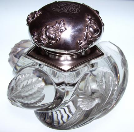 Incredible Durand Rock Crystal Inkwell w/ Gorham Lid – SOLD