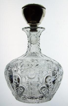 Hawkes Rock Crystal Cologne Bottle