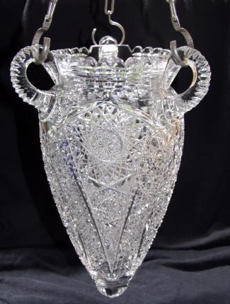 Rarest Cut Glass Hanging Vase!!!! – SOLD
