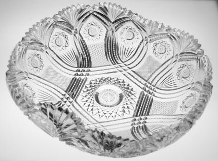 Rare Straus Arabesque Rollover Bowl