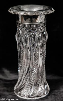 Gorgeous Gorham Sterling and Hoare Vase