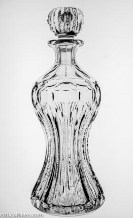 Unusual Bergen Florida Pinched Cordial Decanter