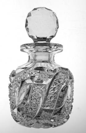 Precious Egginton Swirled Tusk and Russian Cologne Bottle – SOLD