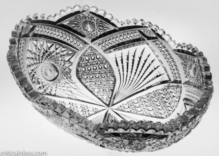 Extremely Rare Straus Radius Fruit Bowl – SOLD